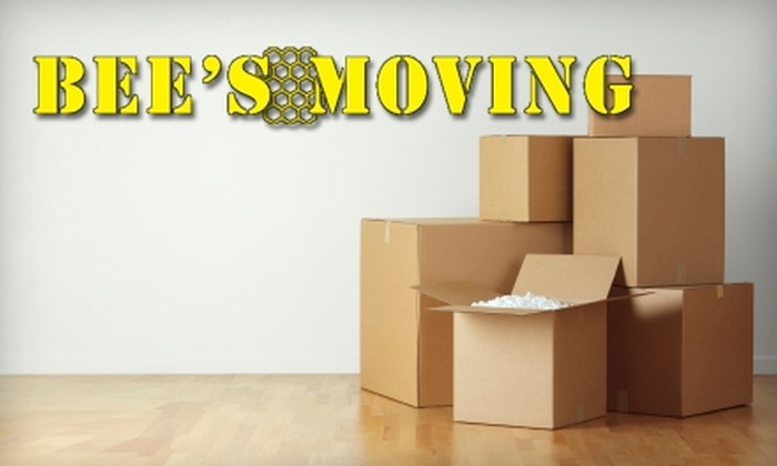 Bee's Moving and Storage - Multiple Locations: $55 for One Hour of Moving Services from Bee's Moving and Storage (Up to $110 Value)