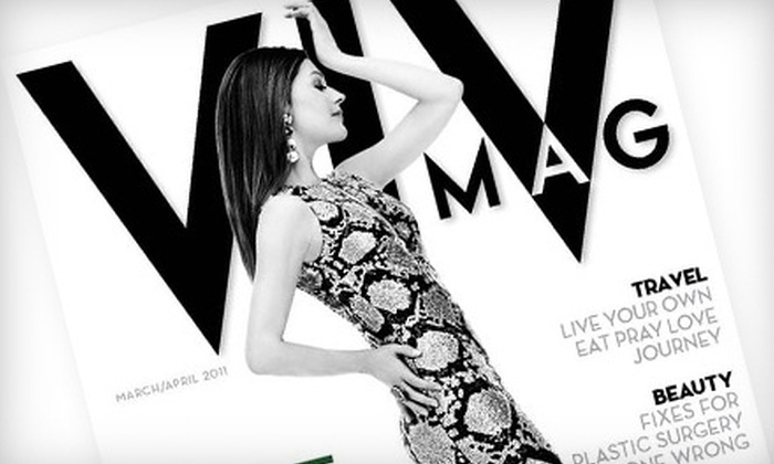 """""""VivMag"""": $12 for a One-Year Digital Subscription to """"VivMag"""" ($24 Value)"""