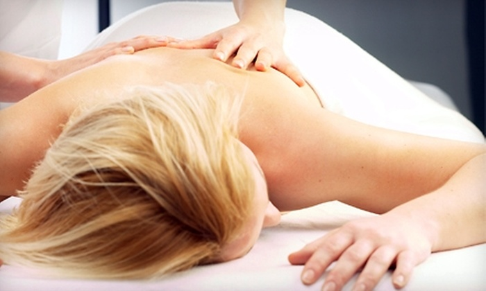 Physician's Center for Beauty - Parkside: $49 for Leg Treatment, Neck and Shoulder Massage, and Hot-Stone Hand Massage at Physician's Center for Beauty ($100 Value)