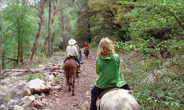 Cherry Creek Lodge - Tonto Basin: One- or Two-Night Stay for Two with Breakfast and Guided Trail Ride at Cherry Creek Lodge in Young (Up to 57% Off)