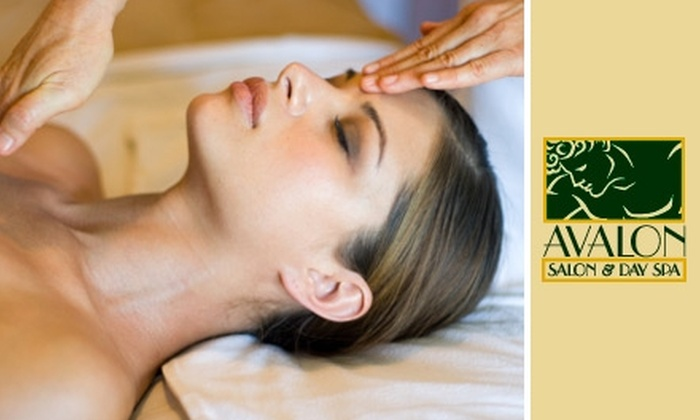 Avalon Salon & Day Spa - West Village: $40 for a 60-Minute Massage of Your Choice at Avalon Salon & Day Spa ($80 Value)