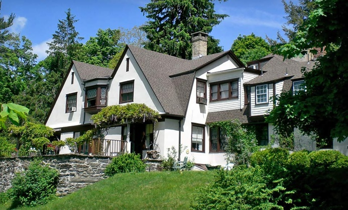 Stately Mansion in Hilly Berkshires