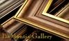 LaMantia Gallery - Northport: Custom Framing from LaMantia Gallery. Choose Between Two Options.