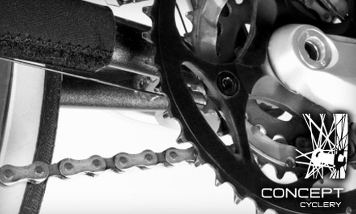Concept Cyclery - Morgan Hill: $45 for a Pro Tune Up at Concept Cyclery ($90 Value)