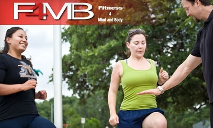 Fitness 4 Mind and Body - Multiple Locations: $69 for One Month of Unlimited Fitness Camps and One Yoga Session at Fitness 4 Mind and Body ($219 Value)