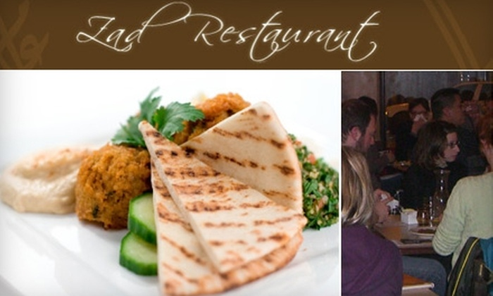 Zad Restaurant - Lakeview: $10 for $20 Worth of Falafel, Shawarma, Tabbouleh & More at Zad Restaurant