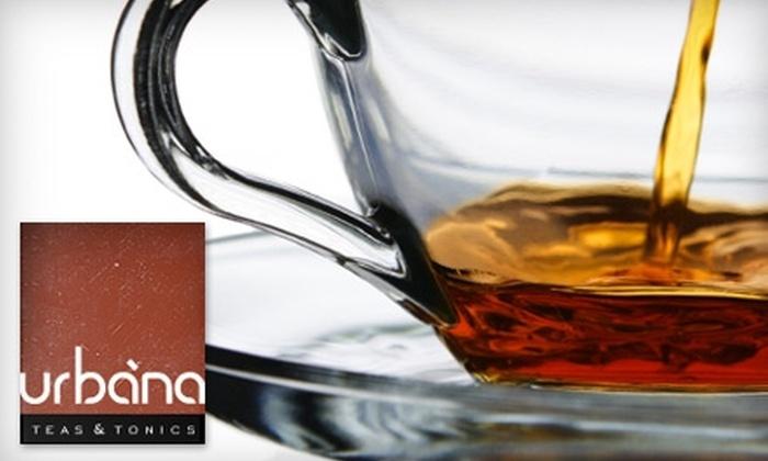 Urbàna Teas & Tonics - Pineville: $10 for $20 Worth of Tea from Urbàna Teas & Tonics
