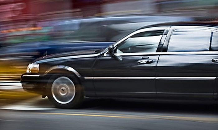 Okoh Limousines and Shuttles - Multiple Locations: One-Way Airport Transportation to or from John Wayne Airport or LAX from Okoh Limousines and Shuttles (Up to 60% Off)