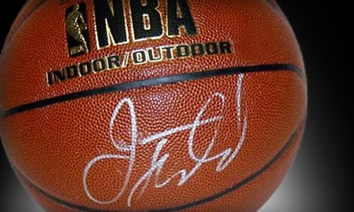 Steiner Sports: $100 for Basketball Signed by Jason Kidd from Steiner Sports ($200 Value)