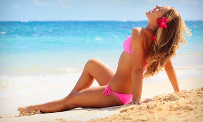 Club Cabo Tanning - Sanborn: One or Three Organic Spray Tans at Club Cabo Tanning in Sanborn (Up to 54% Off)