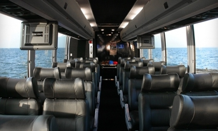 Hampton Luxury Liner - Multiple Locations: $125 for a Full-Day Long Island Wine and Spirit Tour and Breakfast for Two from Hampton Luxury Liner ($300 Value)