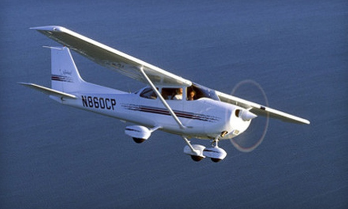 University Air Center - Lamplighter: $70 for an Introductory Flight Lesson Including 30 Minutes of Flight Time at University Air Center ($149 Value)
