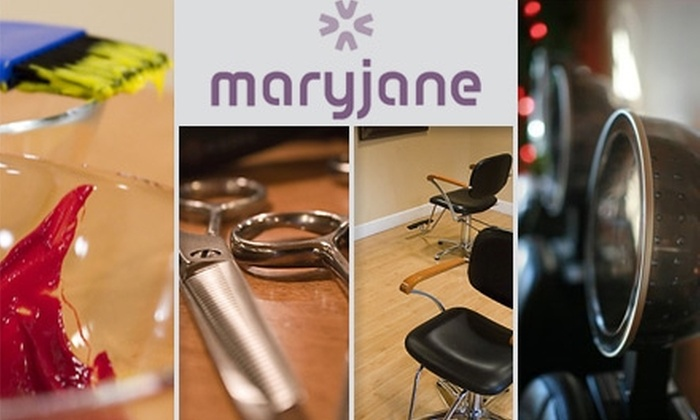 Maryjane Salon - Hillcrest: $40 for $100 Worth of Services at *maryjane* salon