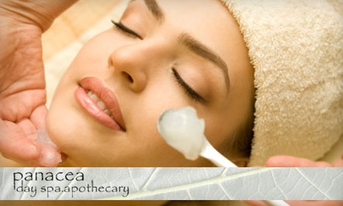 Panacea Hair Salon and Day Spa - Longwood: $45 for a One-Hour Customized Facial and Two Additional Treatments at Panacea Hair Salon and Day Spa ($100 Value)