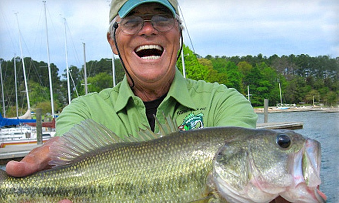 Fishin' With Capt. Gus - Catawba Springs: One or Two Three-Hour Fishing Trips for One on Lake Norman from Fishin' with Capt. Gus in Denver (Up to 60% Off)