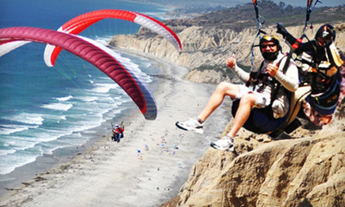 Torrey Pines Gliderport - Torrey Pines: Paragliding Flight or Paragliding Lessons and Flight from Torrey Pines Gliderport in La Jolla