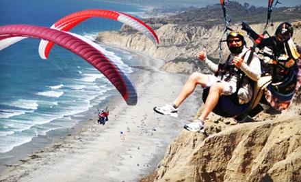 Tandem Paragliding Flight Package (a $200 value) - Torrey Pines Gliderport in La Jolla