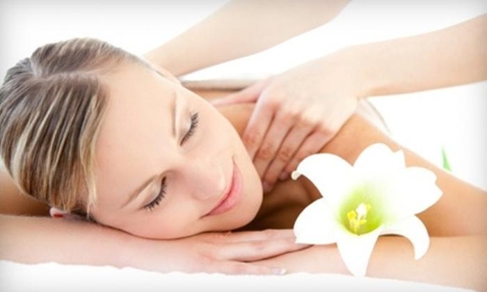 International Massage - Villas: 60-Minute Therapeutic or Hot-Stone Massage at International Massage