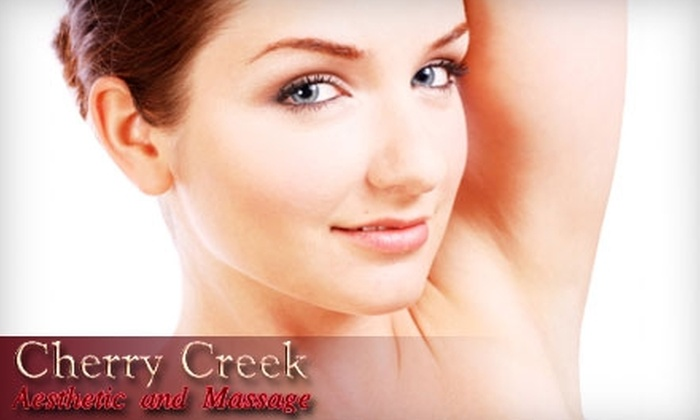 Cherry Creek Aesthetic and Massage Center - Speer: Cosmetic Laser Treatments at Cherry Creek Aesthetic and Massage Center (Up to $420 Value). Choose Between Two Options.