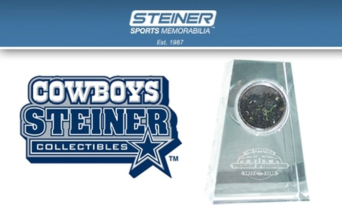 Steiner Sports  - Dallas: $34 for Old Texas Stadium Commemorative Capsule ($69.99 Value)