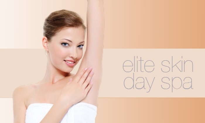 Elite Skin Rejuvenation Day Spa - Rehoboth: $179 for Three Laser Hair-Removal Treatments at Elite Skin Rejuvenation Day Spa