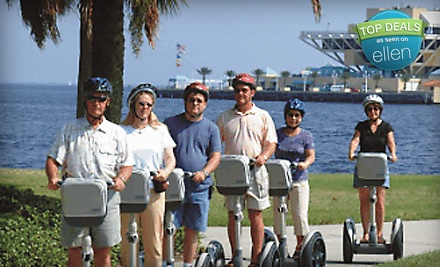 60-Min. Segway Tour Along the Waterfront of Downtown St. Petersburg Departing Sun. at 12:30PM or 2:30PM ($35 value) - All About Fun Tours in St. Petersburg