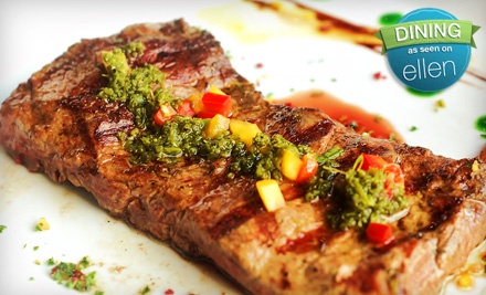 $40 Groupon for Dinner Sun.-Thurs. - Chimichurri's South American Grill in Kingwood