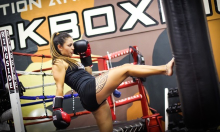 $29 for One Month of Unlimited Classes at Condition and Competition Kickboxing ($135 Value)