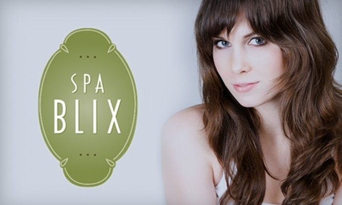 Spa Blix - Loyal Heights: $29 for a Classic Mani-Pedi or Haircut and Style at Spa Blix ($60 Value)
