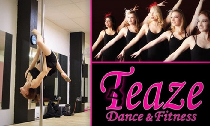 Teaze Dance and Fitness - Downtown Oklahoma City: $18 for Three Classes at Teaze Dance & Fitness ($42 Value)