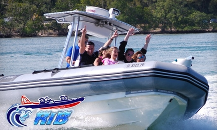 RIB Adventures - Eastern Shores: High-Speed Boating Tours from RIB Adventures. Choose from three options.
