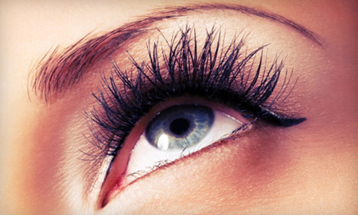 Xtina's Lash Xtensions - Multiple Locations: Full Set of Eyelash Extensions with Optional Fill at Xtina's Lash Xtensions (Up to 60% Off)