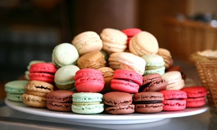 Gourmet French Macarons : 24 or 72 DessertHub Gourmet French Macarons (Up to 59% Off). Shipping Included.