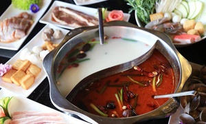 JT5 Restaurant: $17 for $30 Worth of All-You-Can-Eat Chinese Hot Pots and Barbecue at JT5 Restaurant