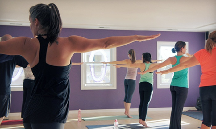 Abhyaasa Yoga - Downtown Naperville: 5 or 10 Yoga Classes or One Month of Unlimited Yoga Classes at Abhyaasa Yoga (Up to 76% Off)
