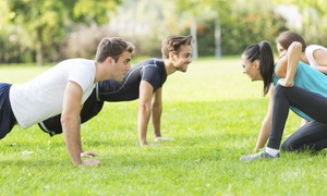 Mbodyment Fitness: Boot-Camp Program or Personal Training Sessions at Mbodyment Fitness (Up to 84% Off). Three Options Available.