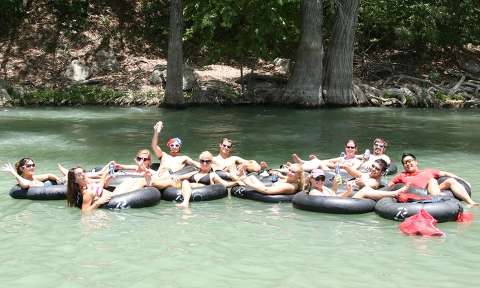 Rockin' R River Rides  - Multiple Locations: $19 for Tube Rentals for Two at Rockin' R River Rides in New Braunfels ($36 Value)