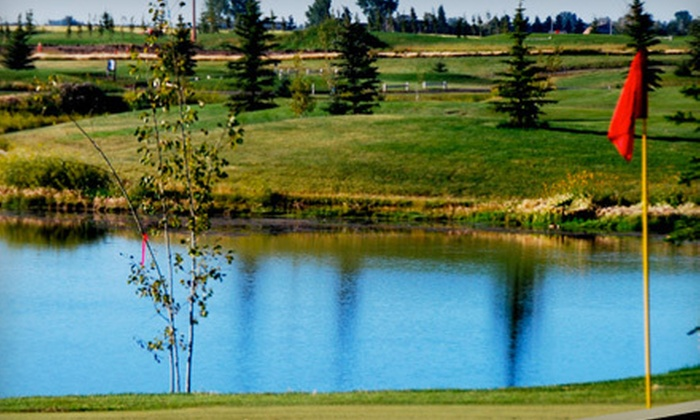 Boulder Creek Golf Course - Langdon: Golf Outing with Cart, Range Balls, and Drinks for Two or Four at Boulder Creek Golf Course in Langdon (Up to 54% Off)