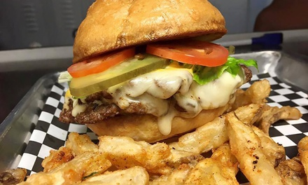 $13 for $20 Worth of Gourmet Burgers and Pub Grub at White Flag