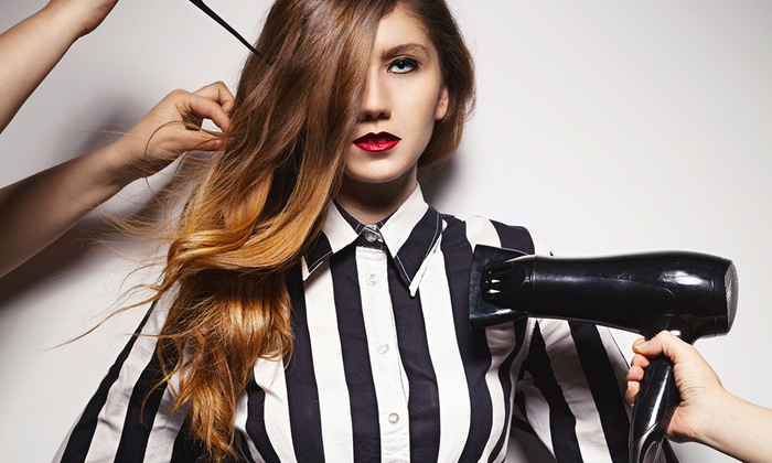 Blaze Cut Salon - Reston: Japanese Straightening, Keratin Treatment, or Full Highlights at Blaze Cut Salon (51% Off)