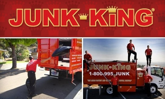Memphis Junk King - Memphis: $69 for a Half Truckload of Junk Loading and Hauling from Memphis Junk King ($288 Value)