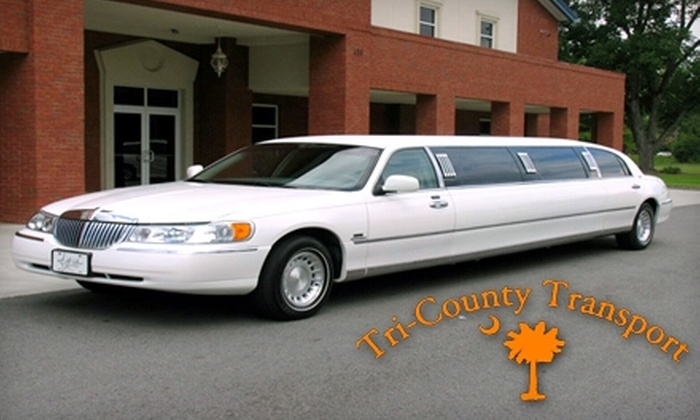 Tri-County Transport - Charleston: $75 for One-Hour Limo Ride and 50% Off Additional Hours From Tri-County Transport ($150 Value)