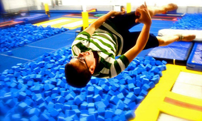 Lowes Xtreme Air Sports - Franklin: 90 Minutes of Trampoline Jumping for Two, Four, or Six at Lowes Xtreme Air Sports (Up to Half Off)