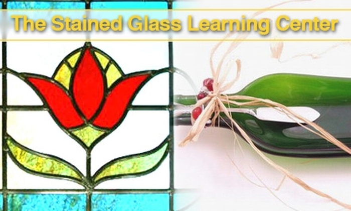 Stained Glass Learning Center - Multiple Locations: $60 for Four Weeks of Beginners' Stained-Glass Classes or Two Fused-Glass Sessions at Stained Glass Learning Center ($125 Value)