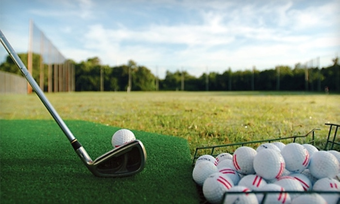 River Trails Park District - Mount Prospect: $30 for 10 Large Buckets of Driving-Range Balls at River Trails Park District in Mount Prospect ($63 Value)