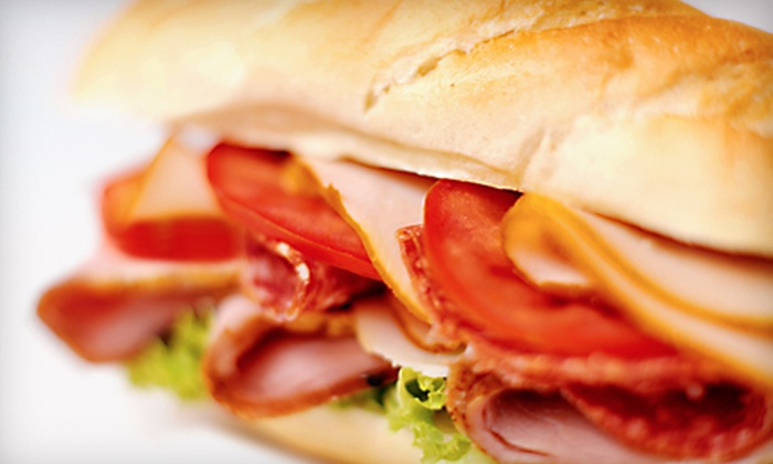 Rubino's - Southeast Quadrant,Upper Monroe: Breakfast or Lunch for Two or Party Platter for Up to 10 at Rubino's