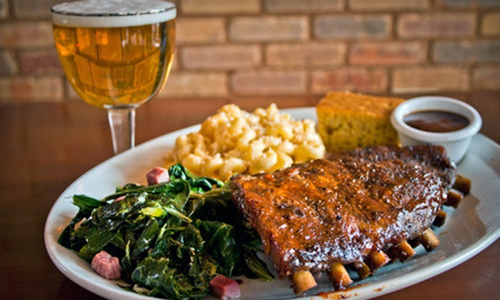 Brickhouse BBQ - Downtown Madison: Barbecue Dinner or Lunch for Two at Brickhouse BBQ (Up to 55% Off)