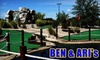 Ben & Ari's - Fishers: $15 for Four Games of Mini-Golf or Mini-Bowling, 25 Arcade Tokens, a Large One-Topping Pizza, and a Pitcher of Soda at Ben & Ari's (Up to $43.20 Value)