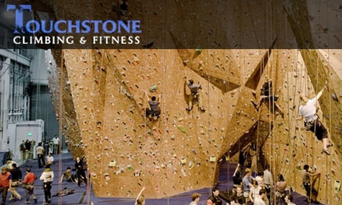 Touchstone Climbing - Concord: $25 for an Introductory Climbing Lesson for Two People at Touchstone Climbing. Choose from Five Locations.