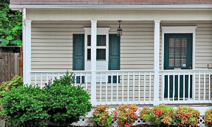 Kenny's Landscape and Lawn Service - Baton Rouge: $124 for Exterior Home Pressure Washing from Kenny's Landscape and Lawn Service ($300 Value)